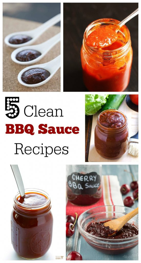 Bbq Sauce From Scratch  Clean BBQ Sauce Recipes Feasting not Fasting