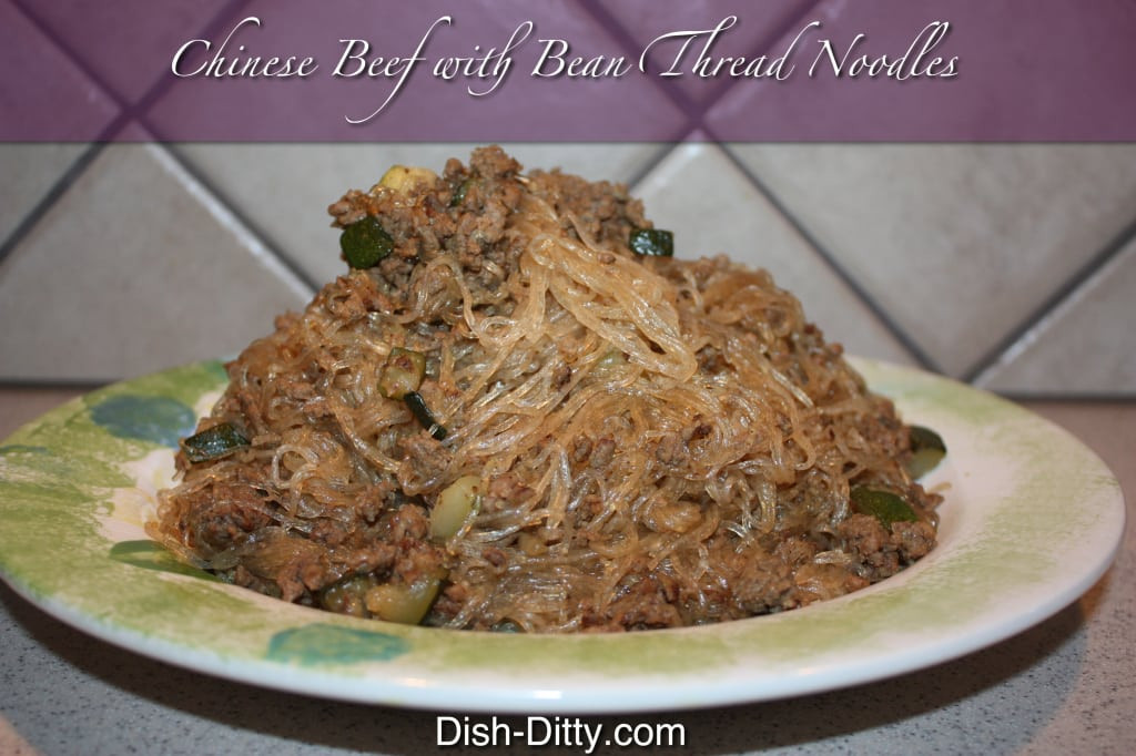 Bean Thread Noodles  Chinese Beef with Bean Thread Noodles Recipe – Dish Ditty