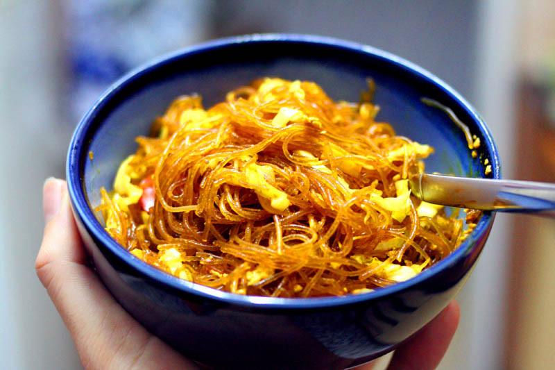 Bean Thread Noodles  Singapore style noodles – Cafe Liz