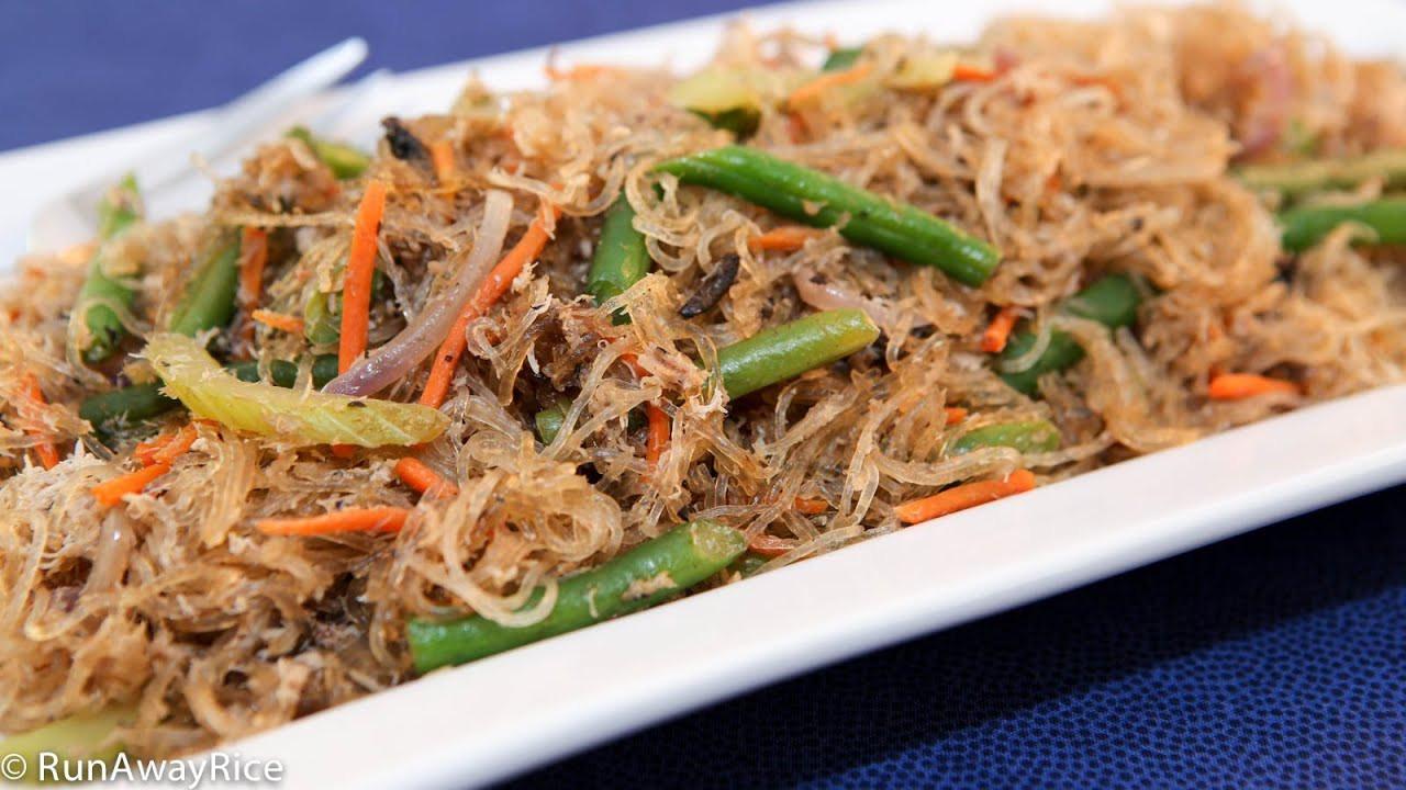 Bean Thread Noodles  Baked Bean Thread Noodles with Crab Mien Xao Cua Dut Lo