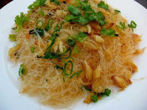 Bean Thread Noodles  Miss Adventure Home Miến Xào Cua Bean Thread Noodles