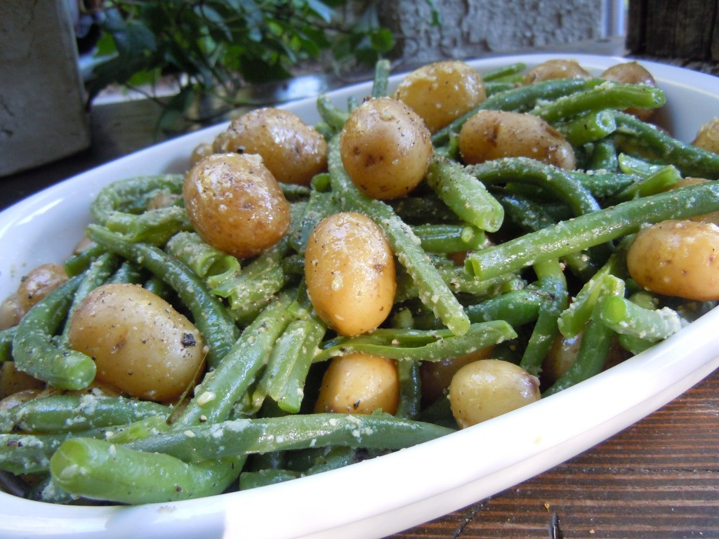 Beans Greens Potatoes  green beans and new potatoes recipe