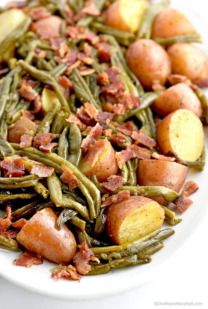 Beans Greens Potatoes  soul food green beans and potatoes