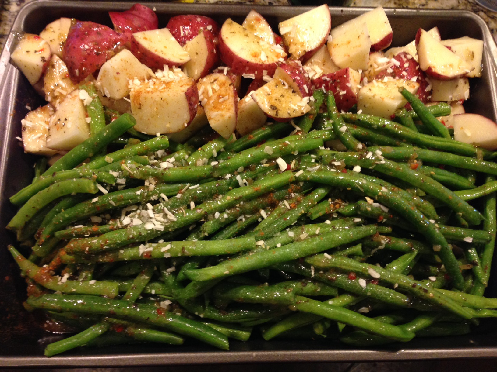 Beans Greens Potatoes  Day 5 8 AdvoCare 24 Day Challenge Not So Gourmet