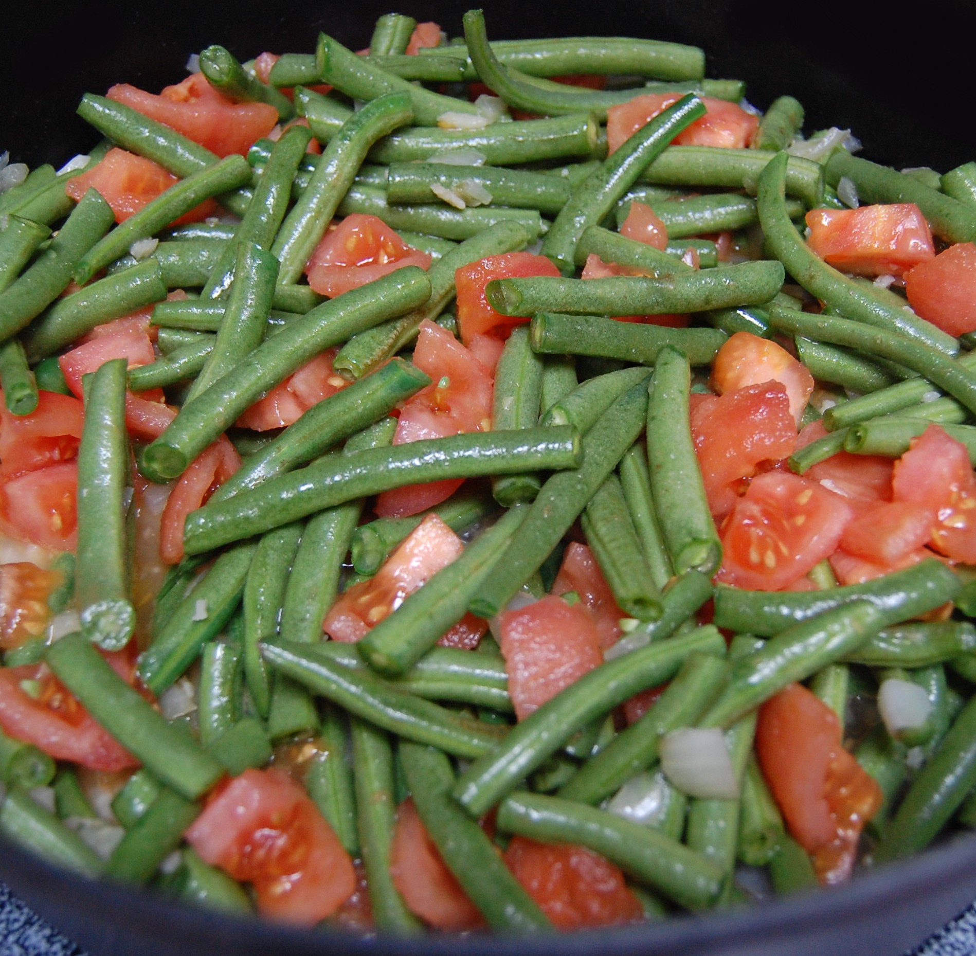 Beans Greens Tomatoes  Green Beans and Tomatoes