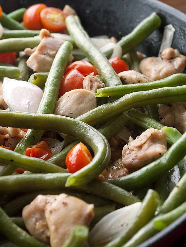 Beans Greens Tomatoes  cajun green beans and tomatoes