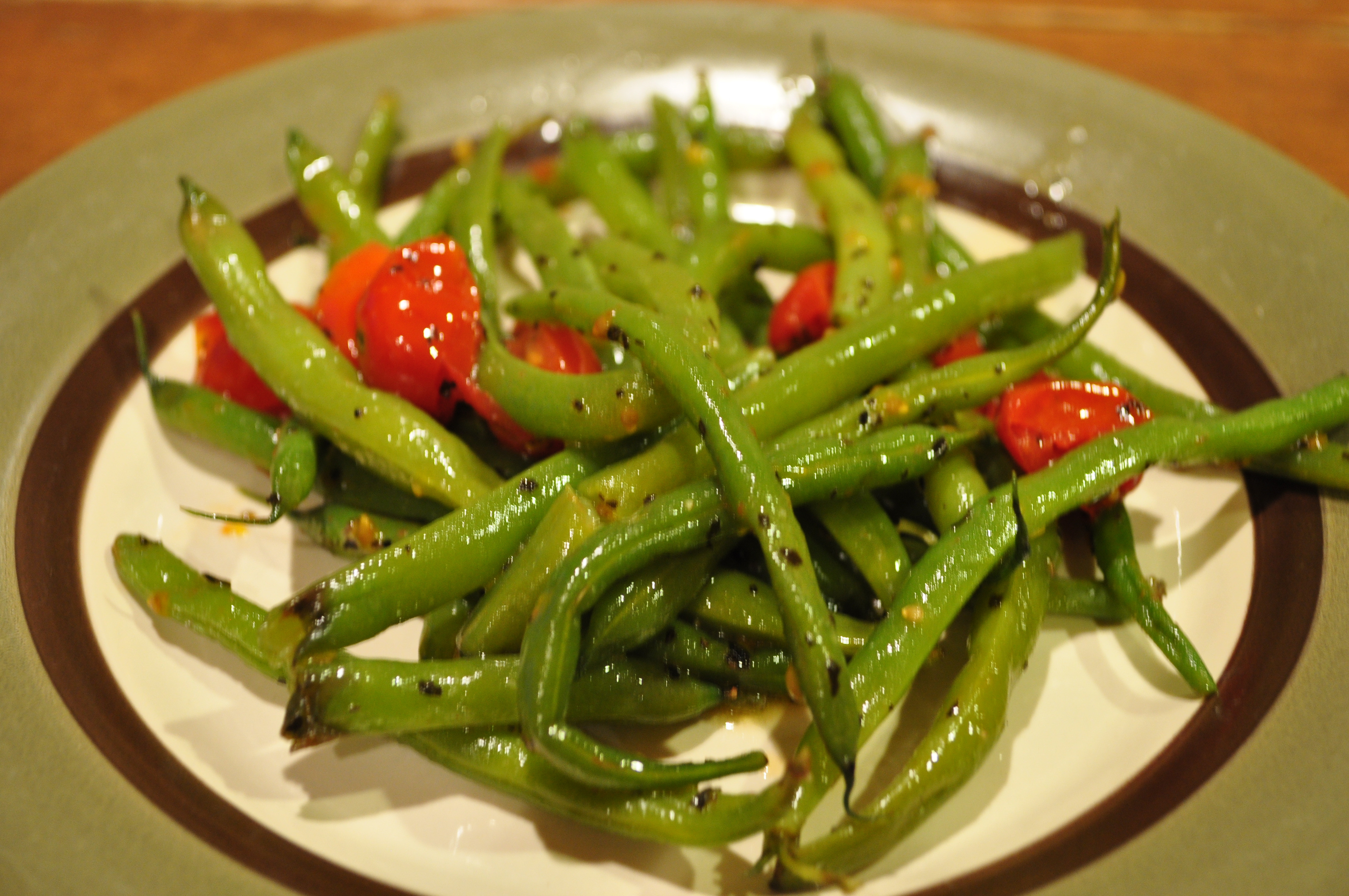 Beans Greens Tomatoes  Green Beans with Tomatoes