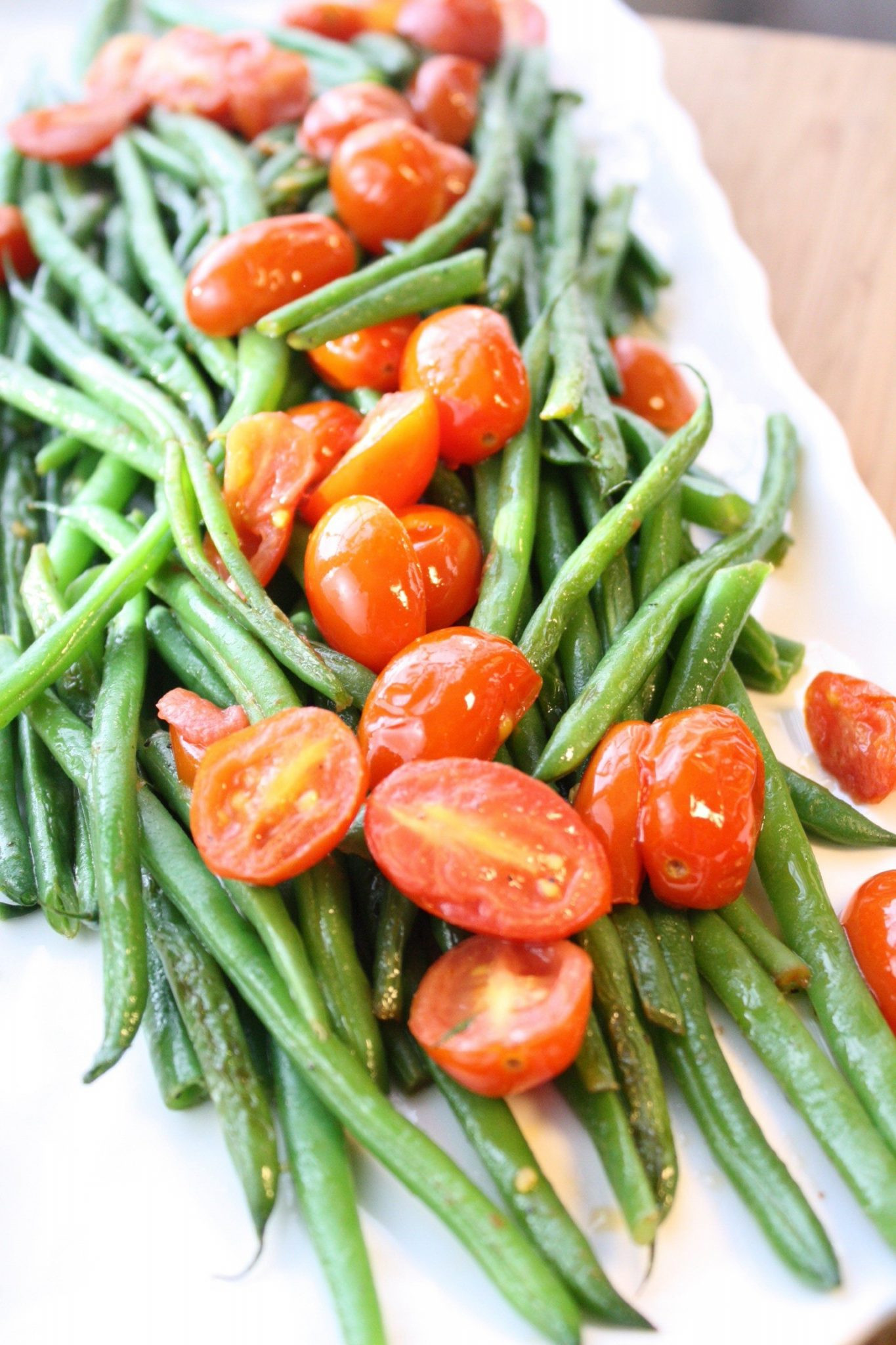 Beans Greens Tomatoes  Green Beans with Tomatoes – Cooking Clarified