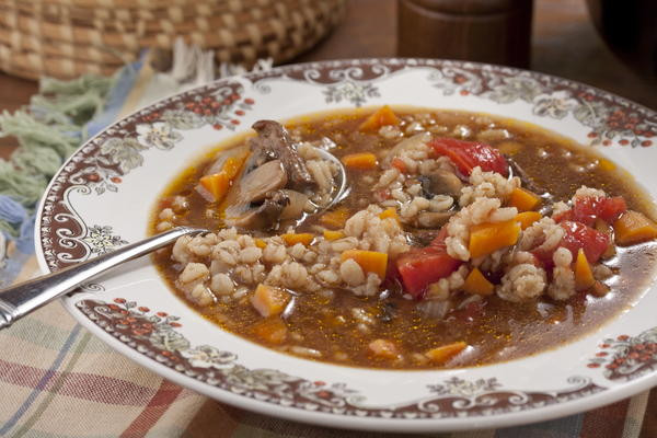 Beef And Barley Soup Recipe  Amish Beef Barley Soup