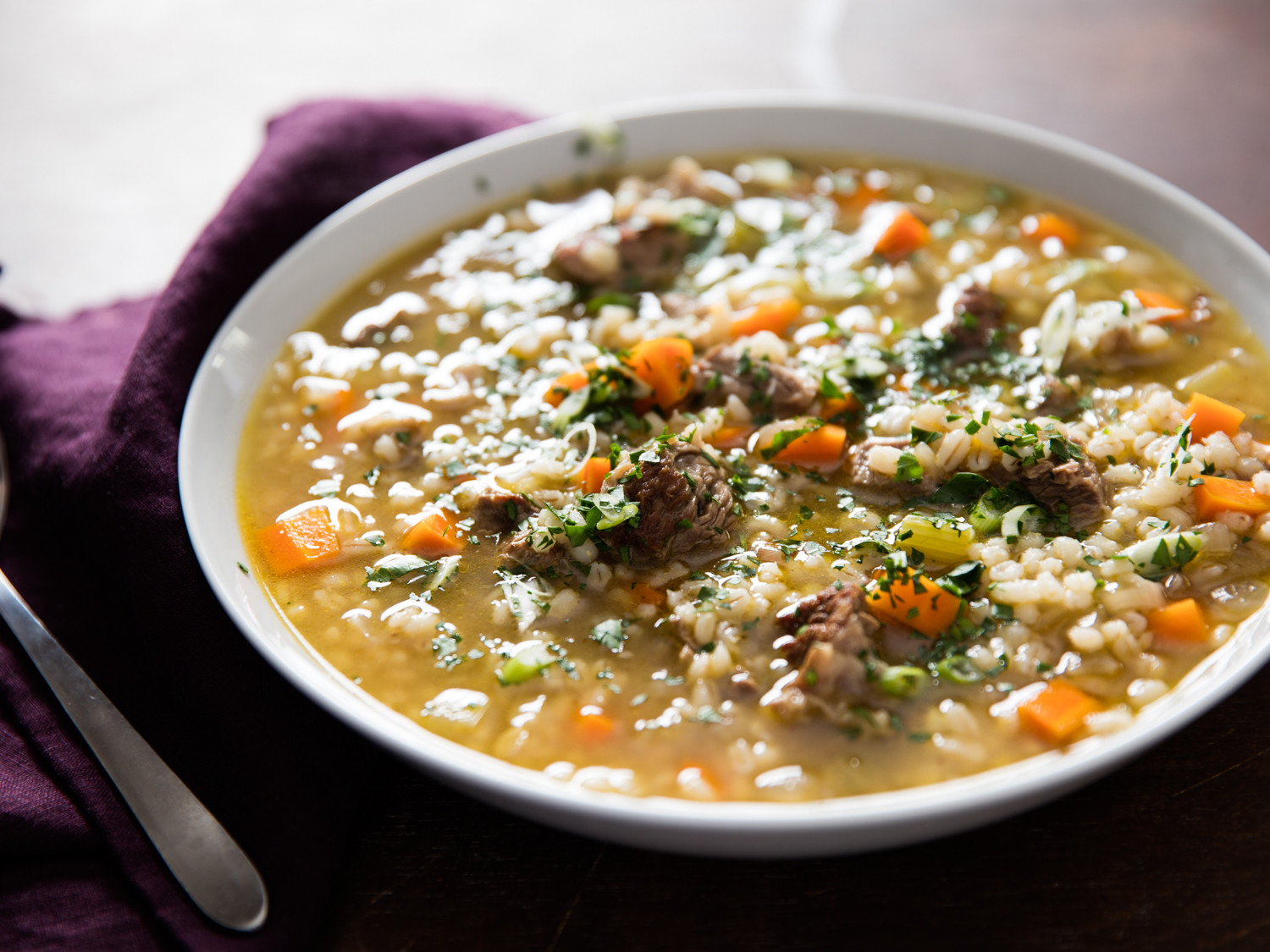 Beef And Barley Soup Recipe  Rich and Hearty Beef Barley Soup Recipe