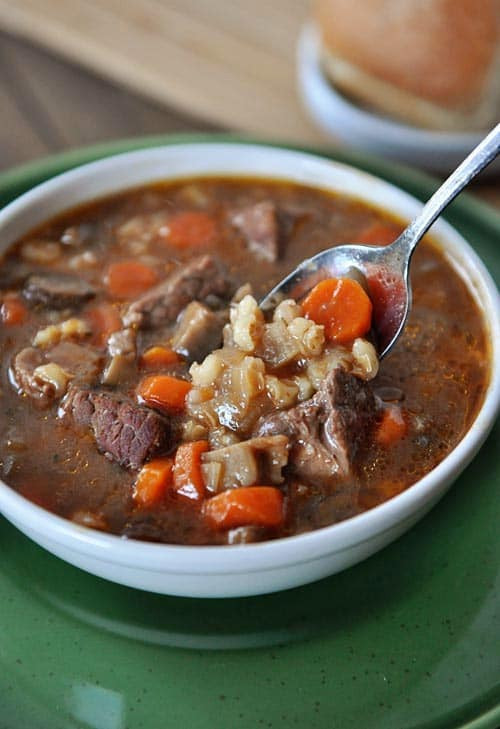 Beef And Barley Soup Recipe  Beef and Barley Soup Recipe