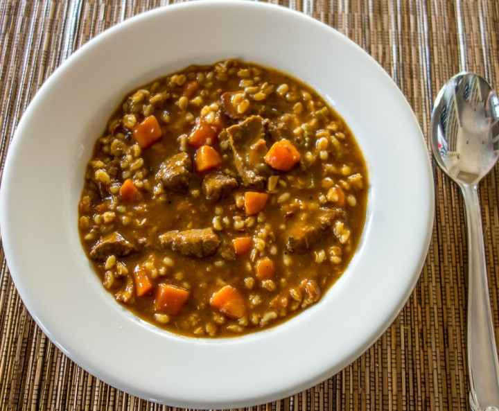 Beef And Barley Soup Recipe  Guinness Beef Barley Soup Real Food Finds