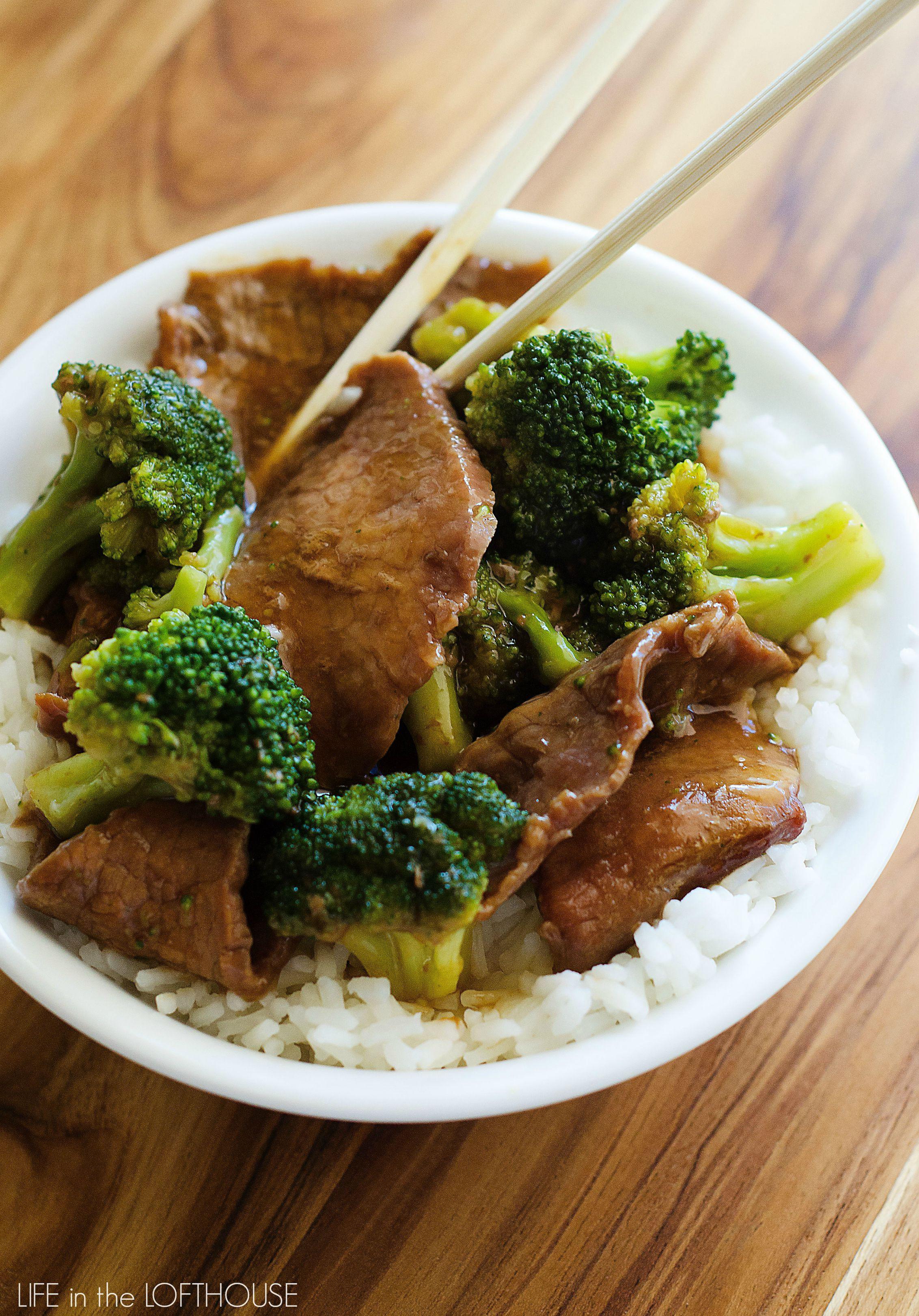 Beef And Broccoli  Crock Pot Beef and Broccoli