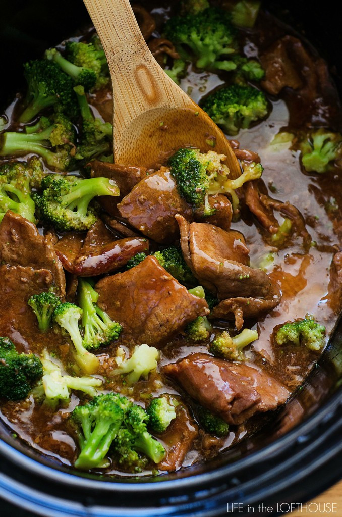 Beef And Broccoli Crock Pot  Crock Pot Beef and Broccoli