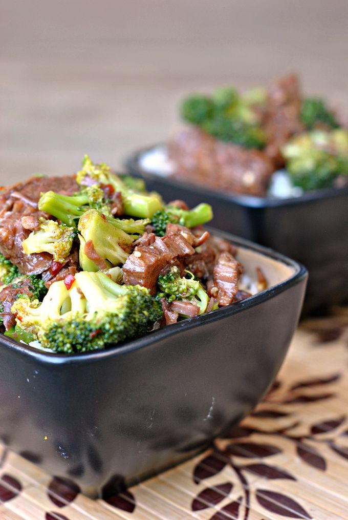 Beef And Broccoli Crock Pot  Crock Pot Beef and Broccoli Weekly Menu