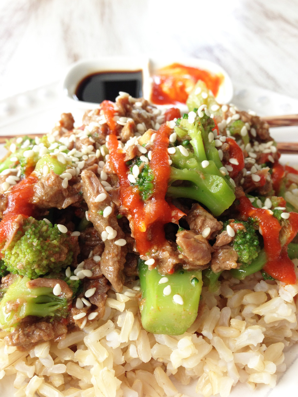 Beef And Broccoli Crock Pot  Healthified Crock Pot Beef & Broccoli — The Skinny Fork