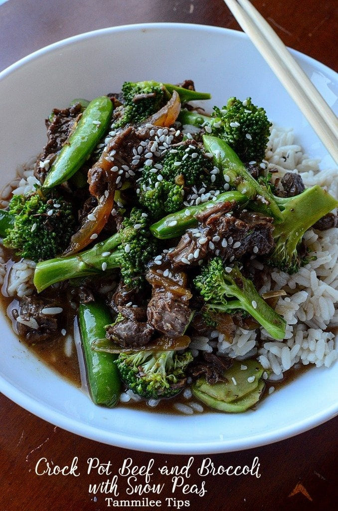 Beef And Broccoli Crock Pot  Slow Cooker Crock Pot Beef and Broccoli Recipe Tammilee Tips