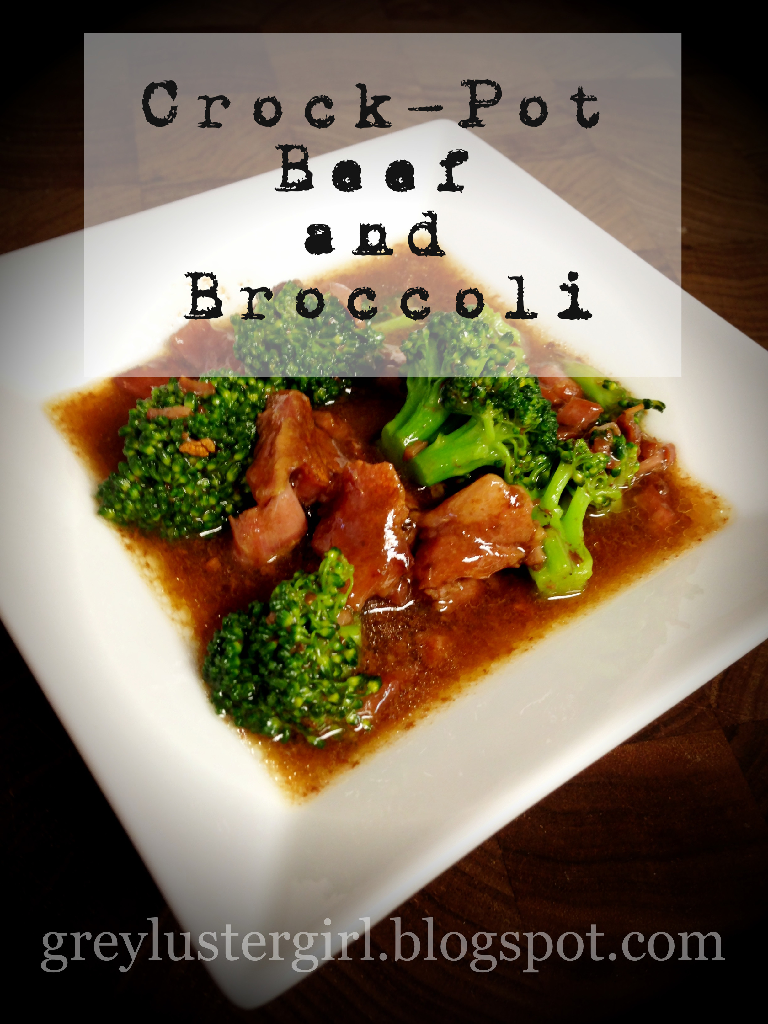 Beef And Broccoli Crock Pot  Tried It Crock Pot Beef and Broccoli