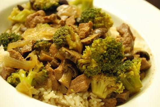 Beef And Broccoli Crock Pot  Crock Pot Beef and Broccoli Recipe 8 Points LaaLoosh