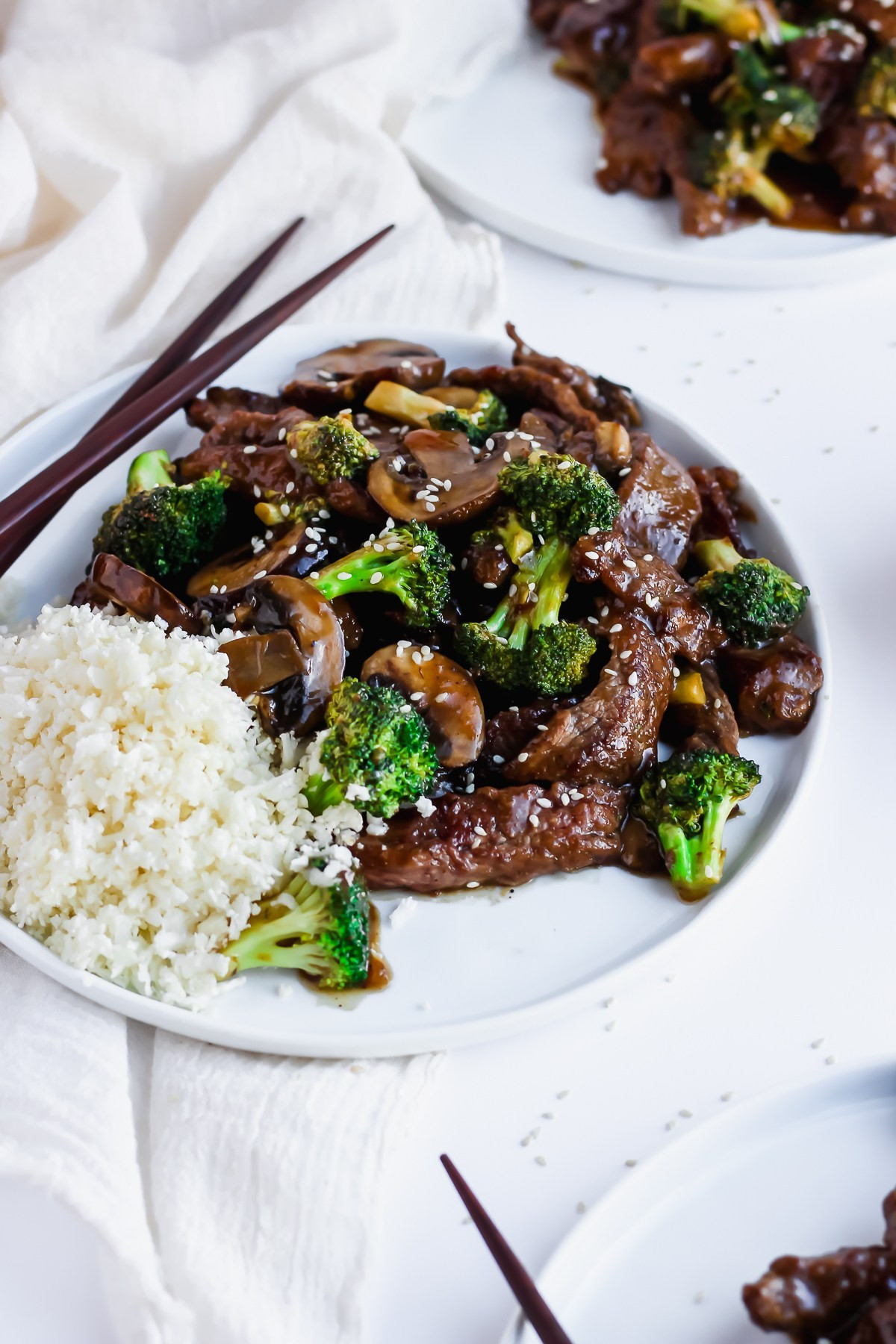Beef And Broccoli Sauce Mix  Beef and Broccoli Stir Fry The Wooden Skillet