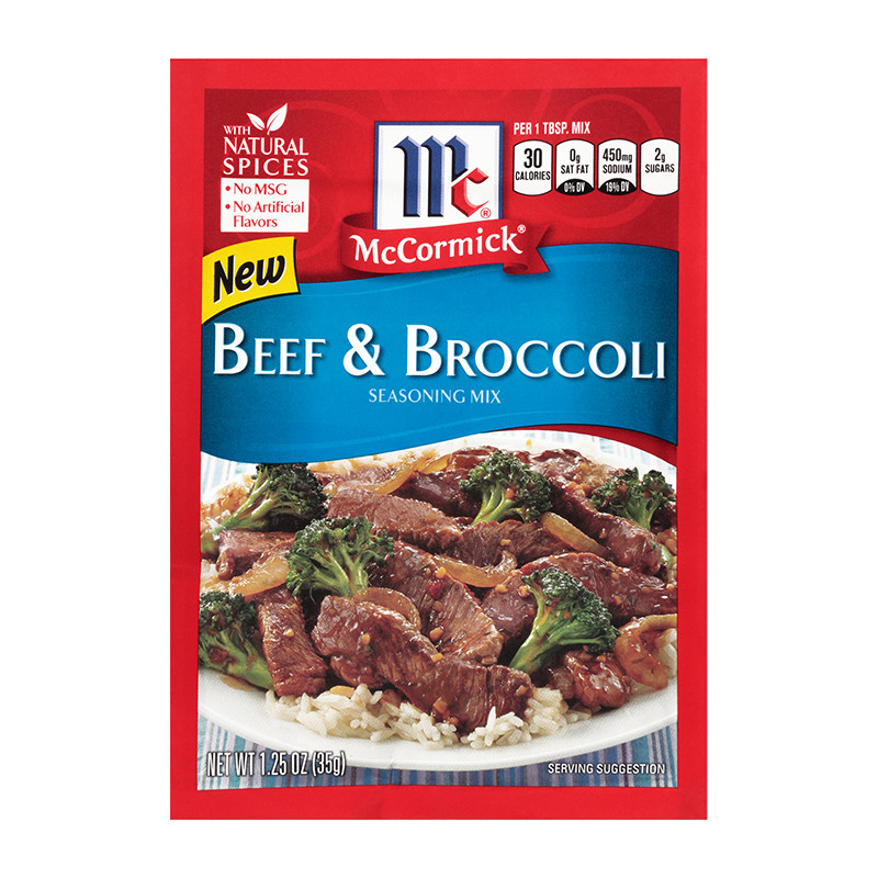 Beef And Broccoli Sauce Mix  Beef & Broccoli