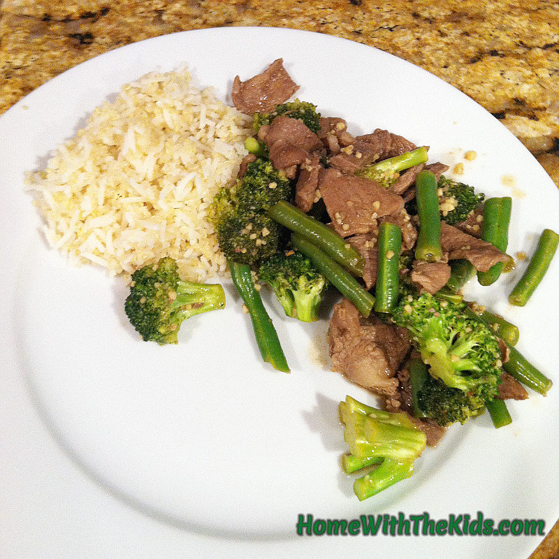 Beef And Broccoli Sauce Mix  Broccoli Beef Home With The Kids Recipes