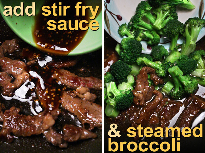 Beef And Broccoli Sauce Mix  The 99 Cent Chef Beef and Broccoli Stir Fry