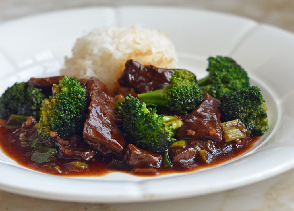 Beef And Broccoli  Beef with Broccoli ce Upon a Chef