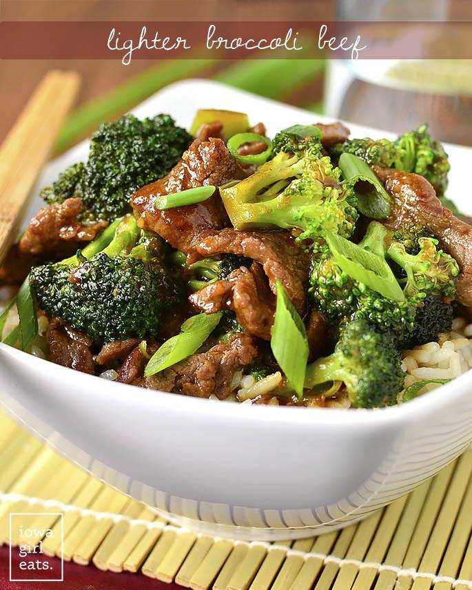 Beef And Broccoli  Lighter Broccoli Beef Iowa Girl Eats