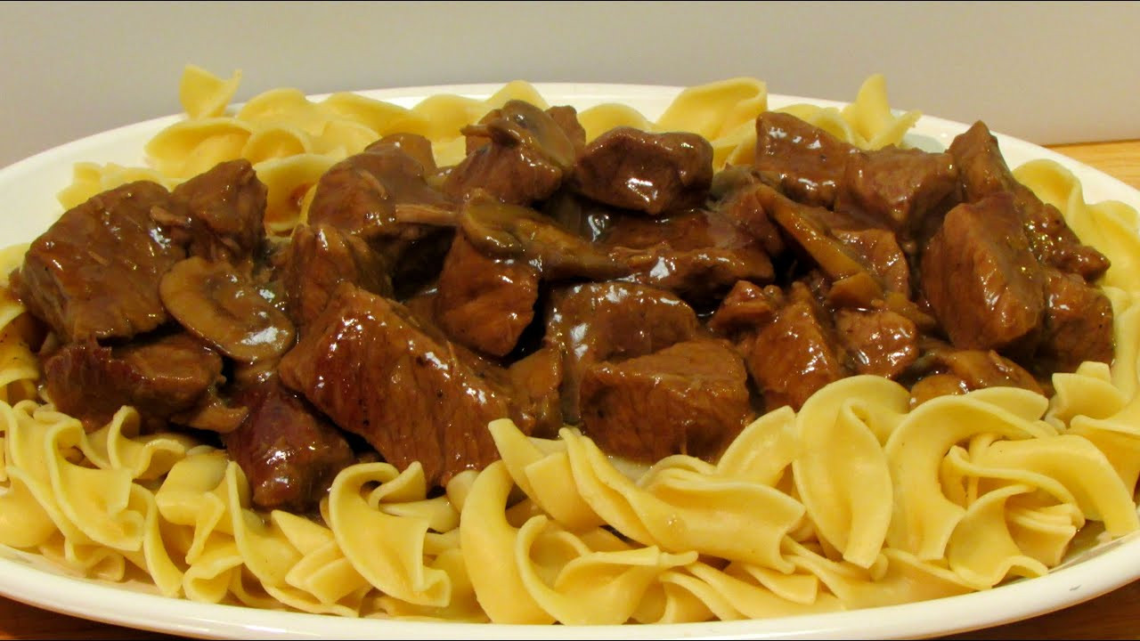 Beef And Egg Noodles  Beef and Noodles Recipe How to Make Beef and Noodles