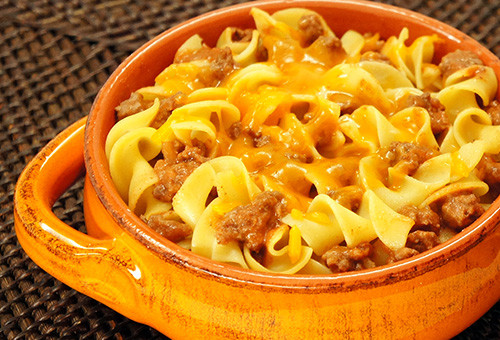Beef And Egg Noodles  Creamette Beef and Egg Noodle Casserole