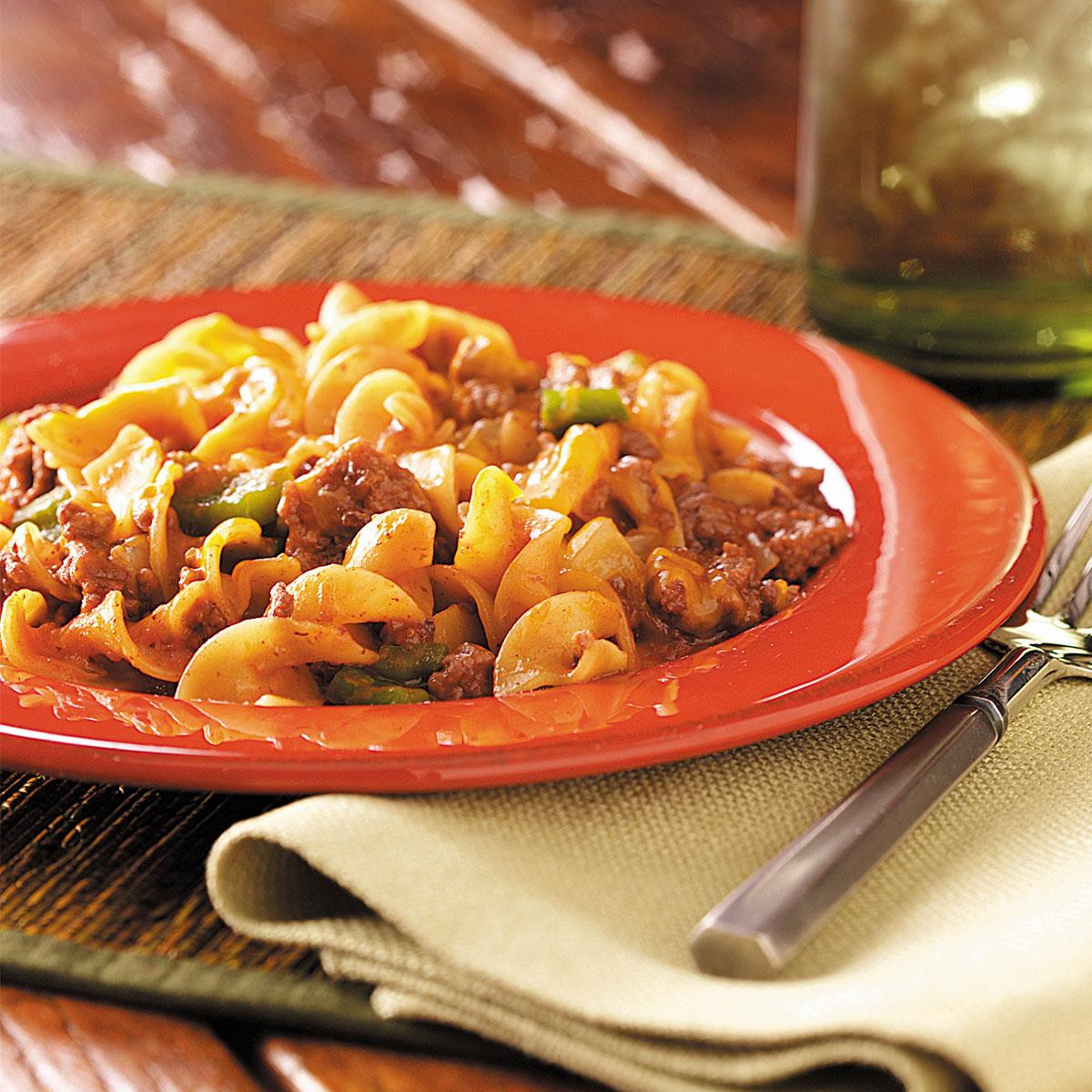 Beef And Noodle Casserole  Beef and Noodle Casserole Recipe