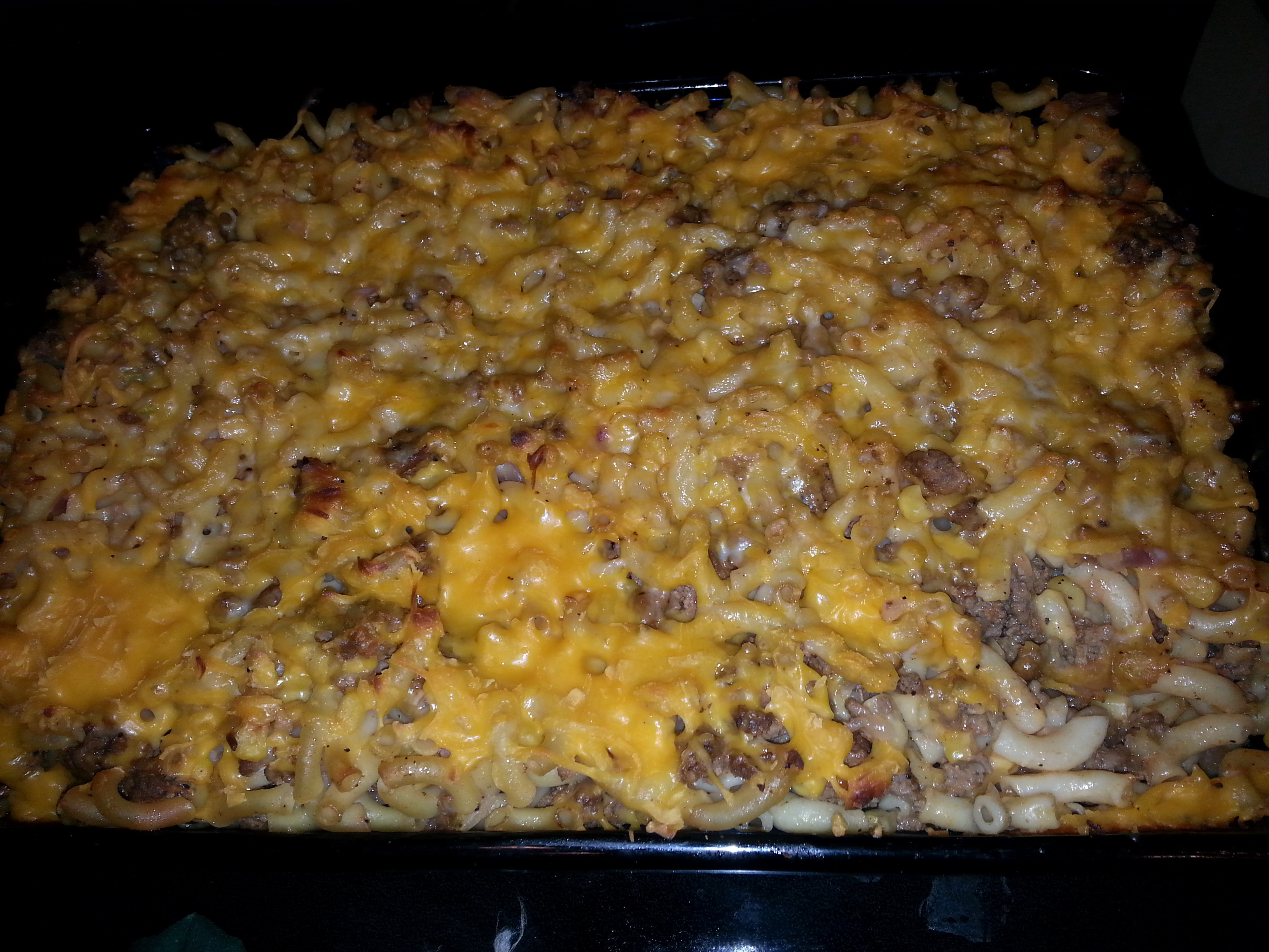 Beef And Noodle Casserole  Beef and Noodle Casserole