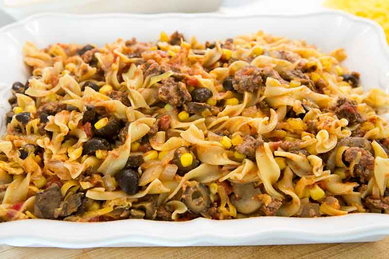 Beef And Noodle Casserole  Beef Noodle Casserole Recipe
