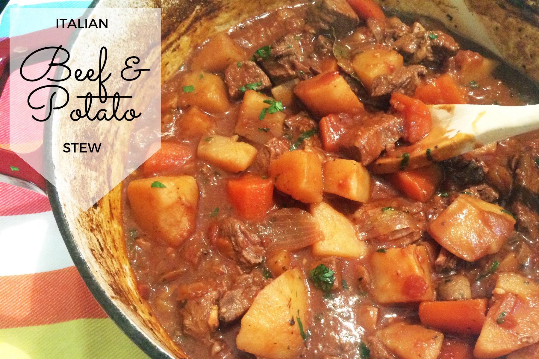 Beef And Potato Stew  Italian Beef & Potato Stew Recipe Mum s Lounge