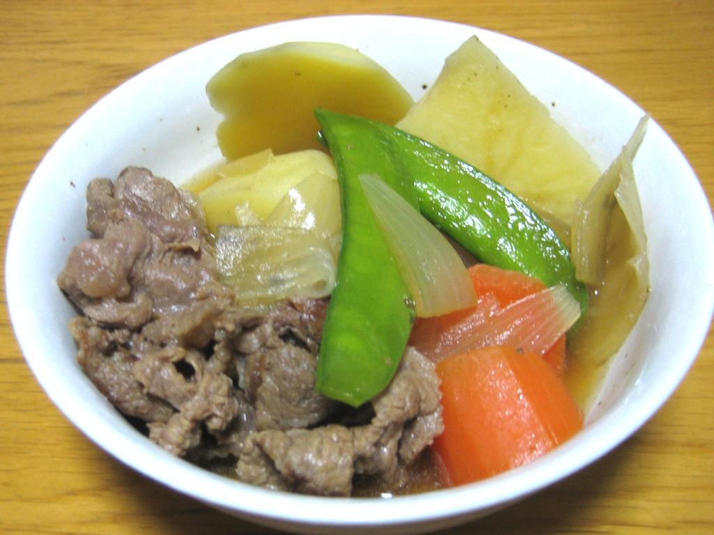 Beef And Potato Stew  Japanese beef and potato stew Nikujaga