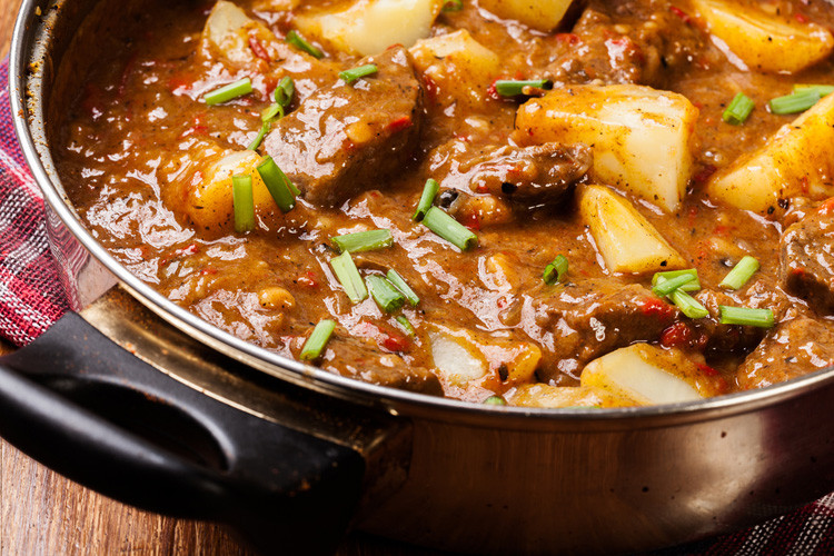 Beef And Potato Stew  Slow Cooker Chunky Beef & Potato Stew