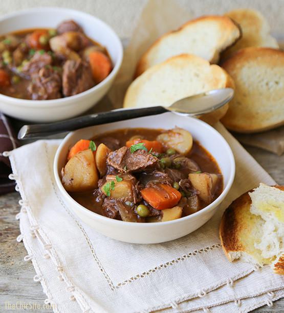 Beef And Potato Stew  Yummy Crock Pot Soups
