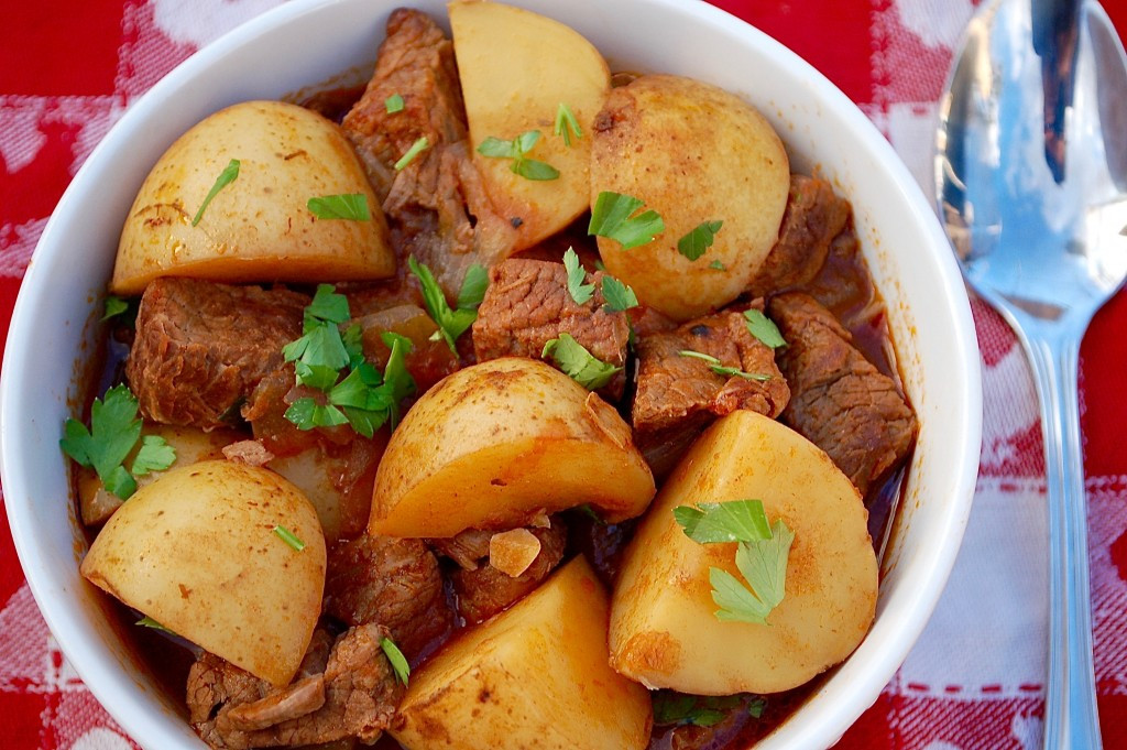 Beef And Potato Stew  Slow Cooker Beef and Potato Stew The Slow Cooking Housewife