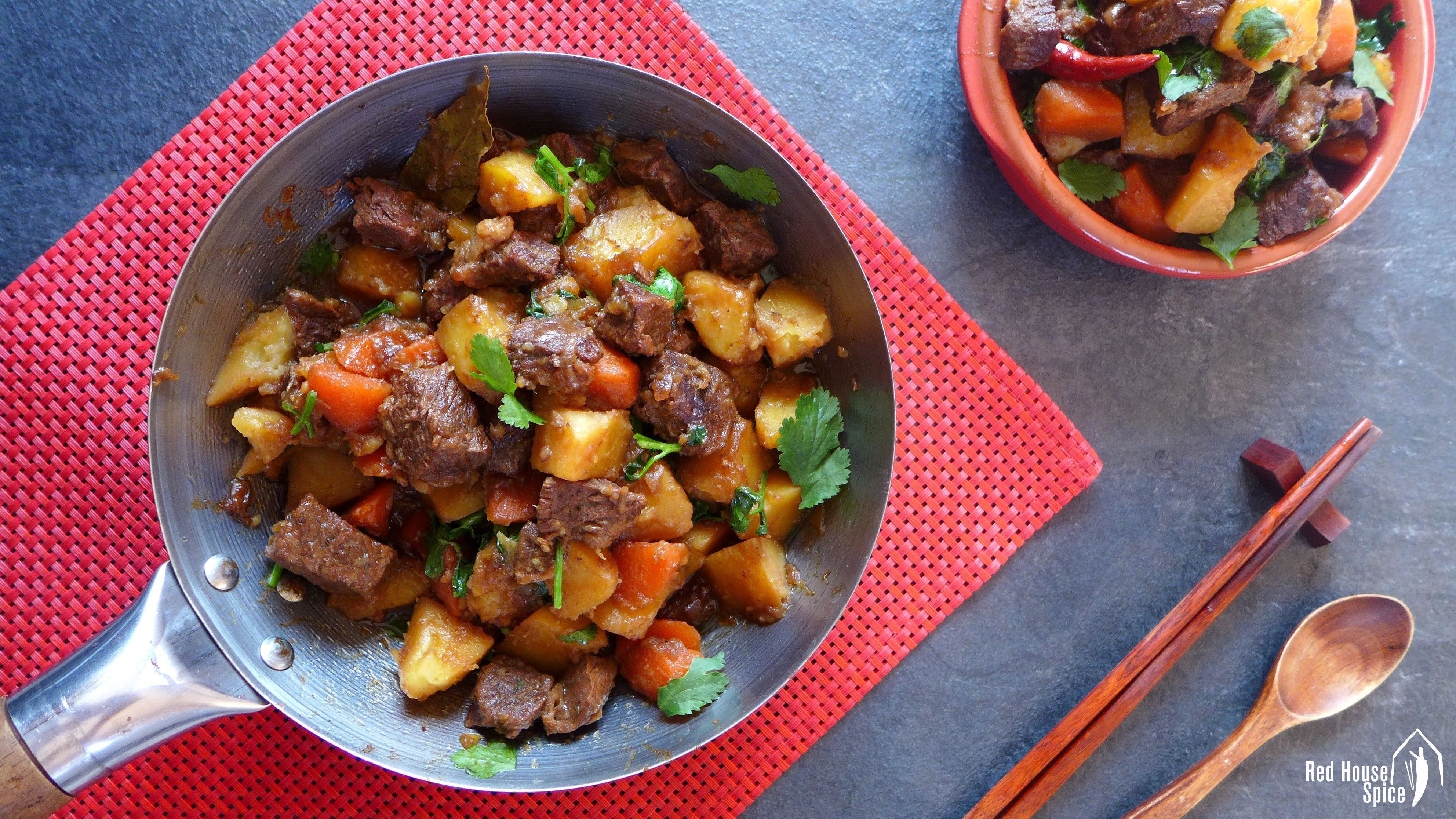 Beef And Potato Stew  Chinese spiced beef and potato stew 土豆炖牛肉 – Red House Spice