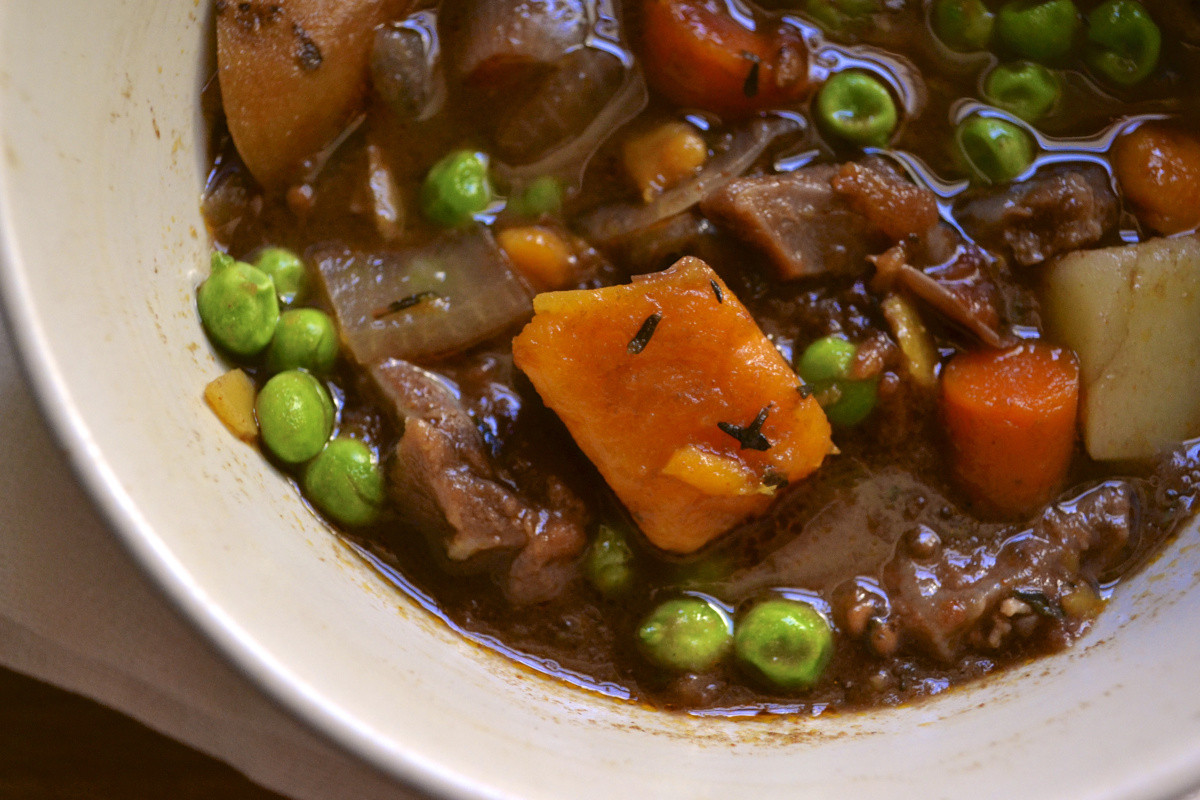 Beef And Potato Stew  Slow Cooker Beef and Sweet Potato Stew – BIG EATS tiny kitchen