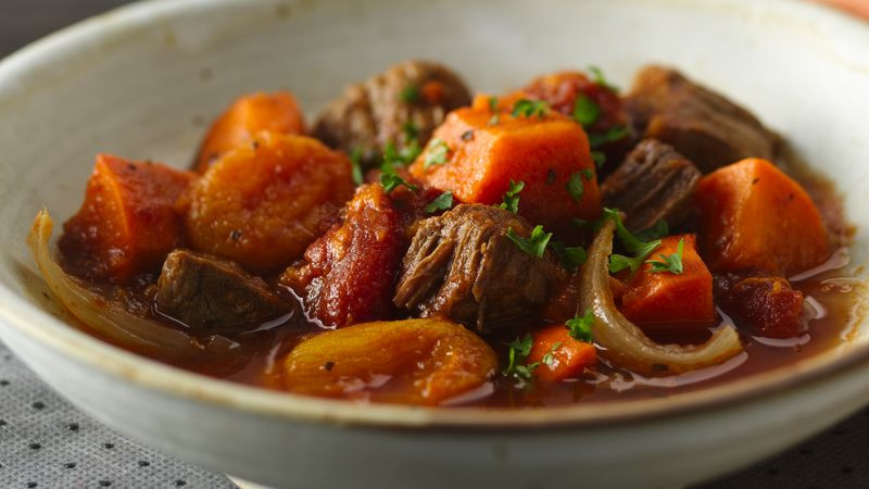 Beef And Potato Stew  Slow Cooker Colombian Beef and Sweet Potato Stew Recipe