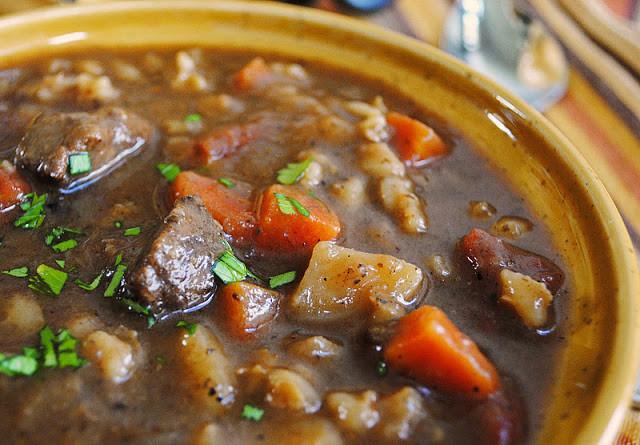 Beef Barley Soup  Beef with Barley Soup