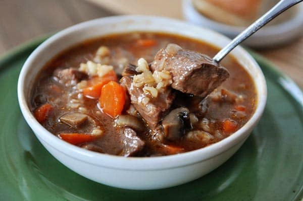 Beef Barley Soup Slow Cooker  Beef and Barley Soup Recipe