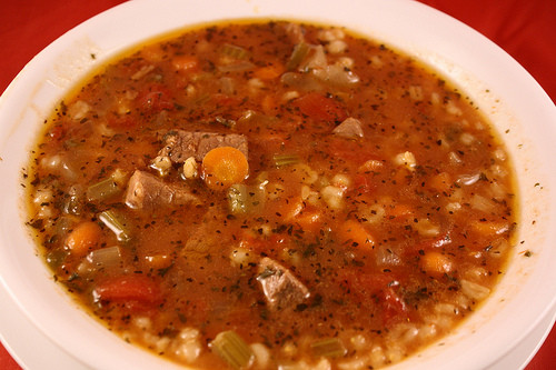 Beef Barley Soup  Slow Cooker Beef Barley Soup Recipe