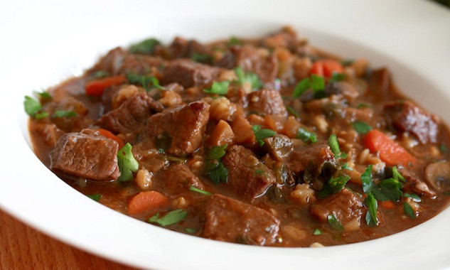 Beef Barley Stew  Hearty Beef and Barley Stew – Honest Cooking