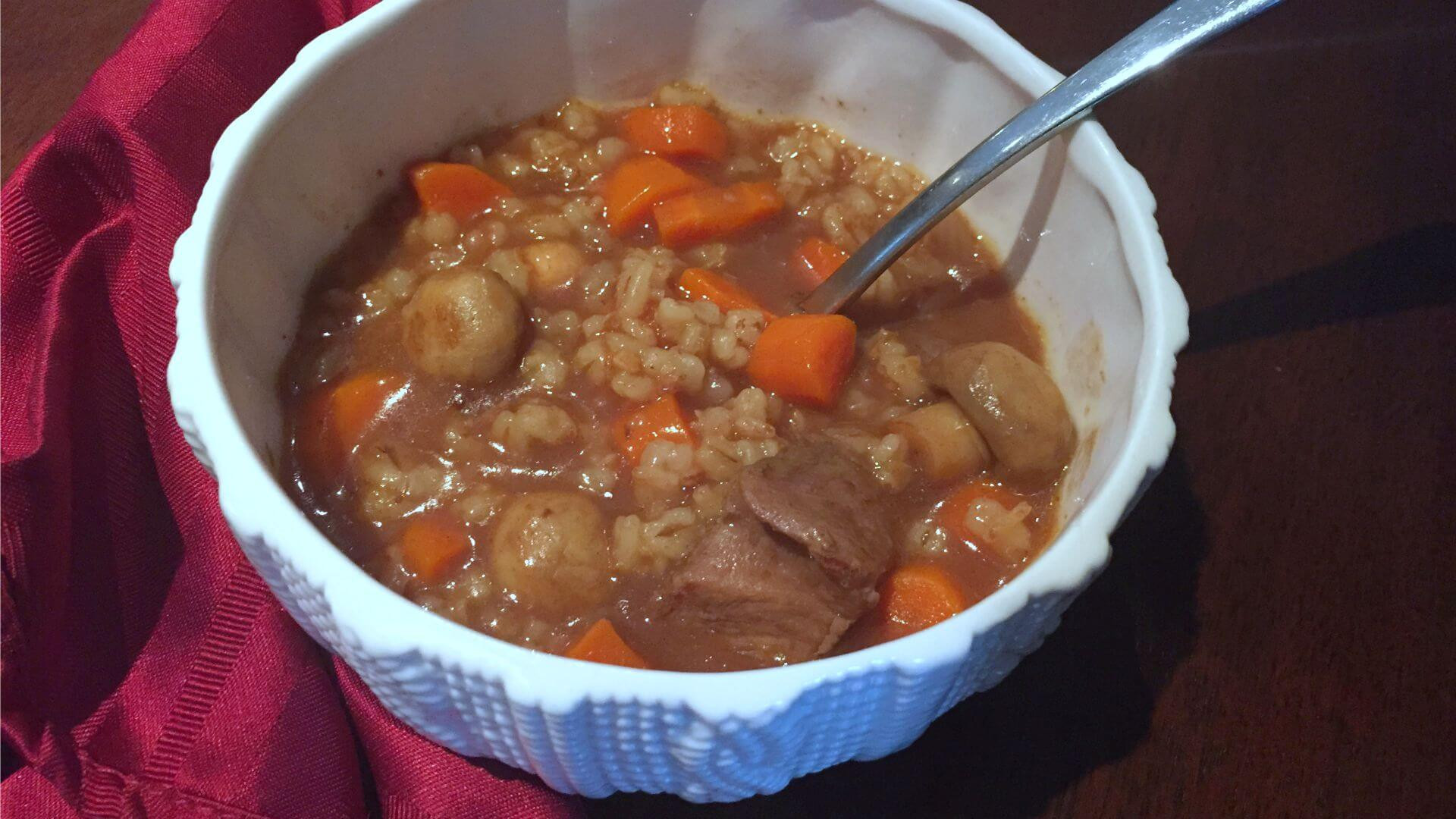 Beef Barley Stew  Beef Barley Stew Nutrition Facts Nutrition Ftempo