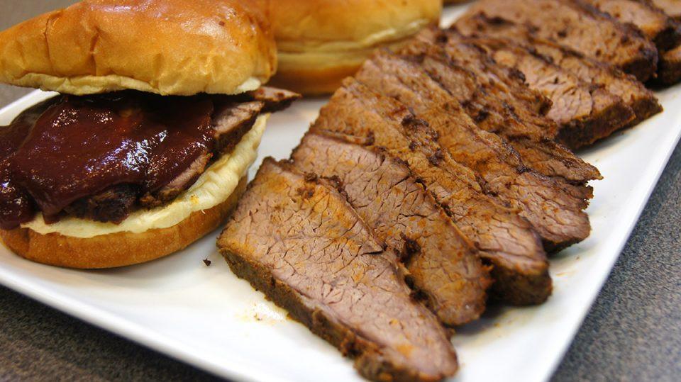 Beef Brisket In Oven  Oven Roasted BBQ Beef Brisket Recipe