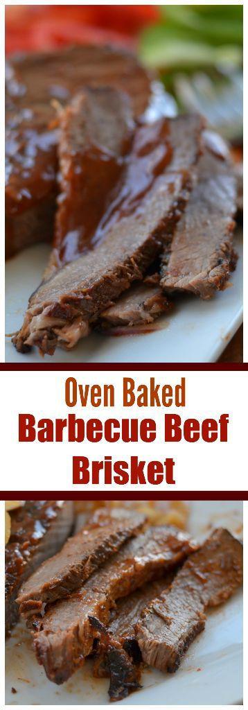 Beef Brisket In Oven  Oven Baked Barbecue Beef Brisket