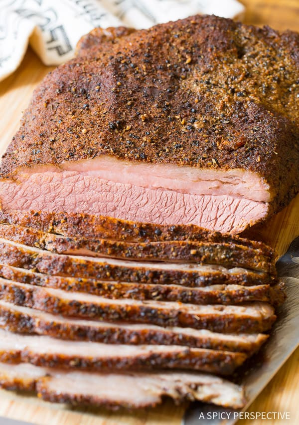 Beef Brisket In Oven  Texas Style Oven Brisket A Spicy Perspective